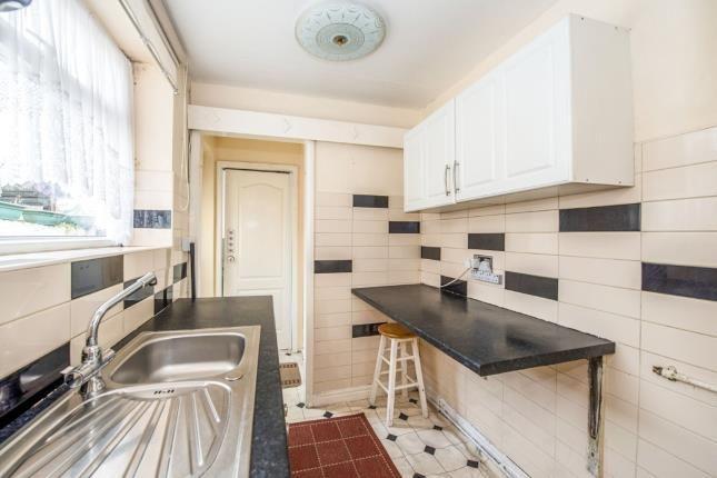 Kitchen of Lind Street, Liverpool, Merseyside L4