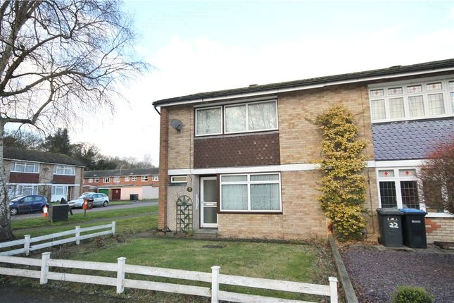 Thumbnail End terrace house to rent in Cherrywood Avenue, Englefield Green, Surrey