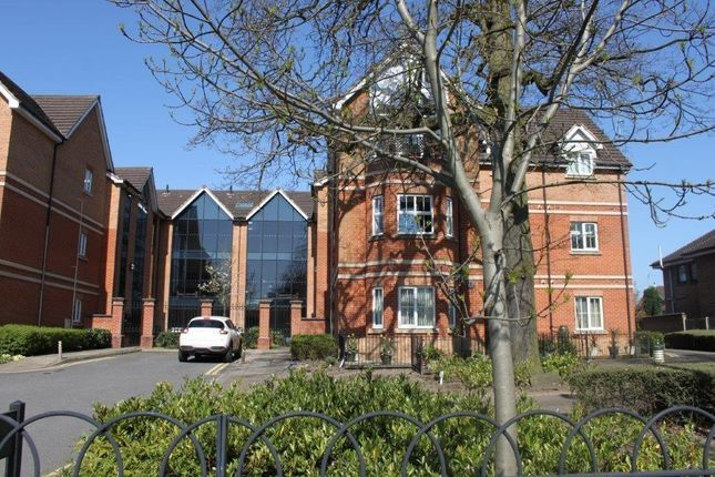 Thumbnail Flat for sale in Priory Heights Court, Off Burton Road, Derby