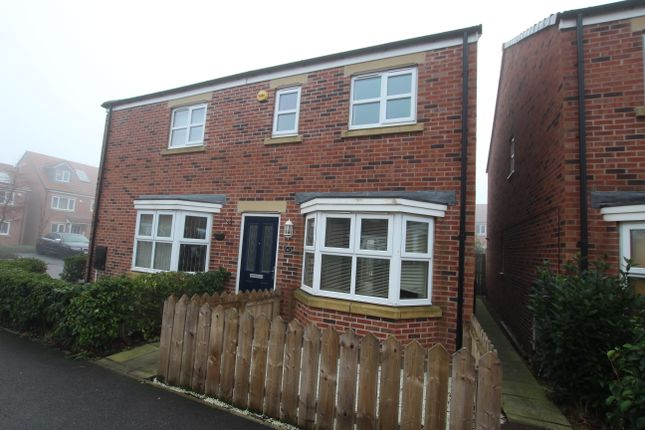 Thumbnail Semi-detached house to rent in Sidings Place, Fencehouses, Co Durham