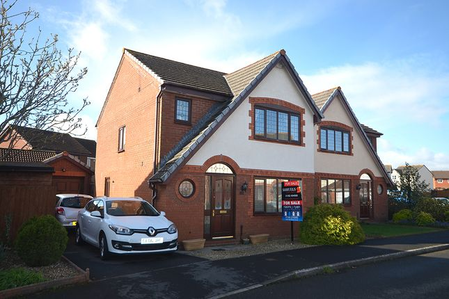 Thumbnail Detached house for sale in Berrybrook Meadow, Exminster, Near Exeter