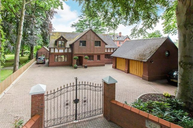 Thumbnail Detached house for sale in Church Road, Alsager, Stoke-On-Trent