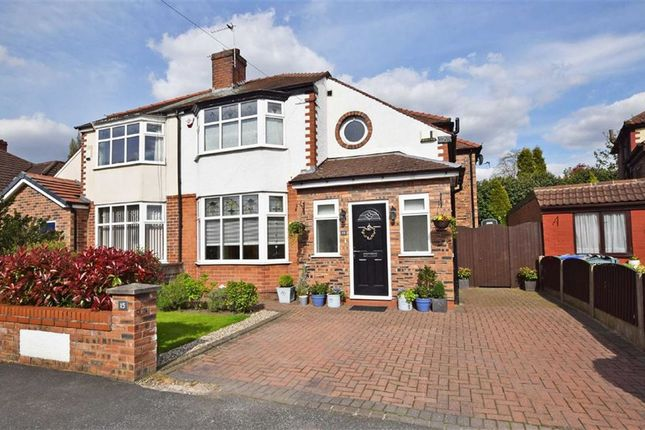 Thumbnail Semi-detached house for sale in Kingsfield Drive, Didsbury, Manchester