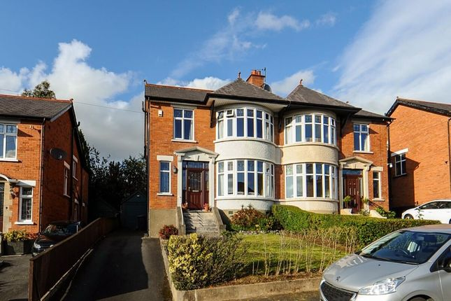 Thumbnail Semi-detached house for sale in Kings Crescent, Belfast