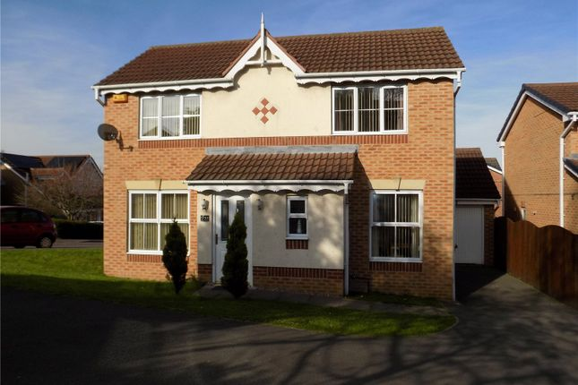 Thumbnail Detached house for sale in Meadow Gardens, Heanor, Derbyshire