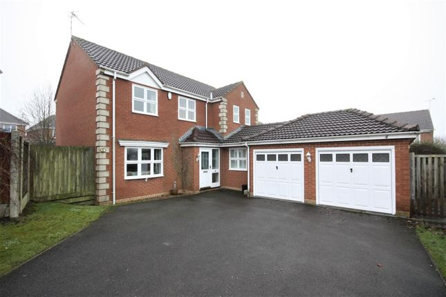 Thumbnail Detached house for sale in Countryman Way, Markfield