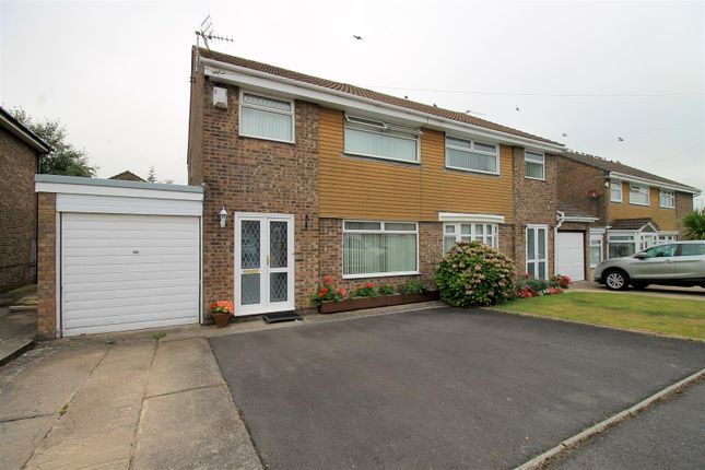 3 bed semi-detached house for sale in Blenheim Close, Barry CF62