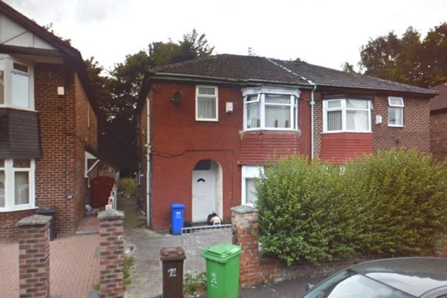 Thumbnail Room to rent in Rectory Road, Manchester