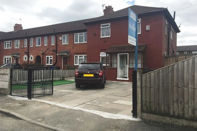 Outside of Cleadon Avenue, Gorton, Manchester M18