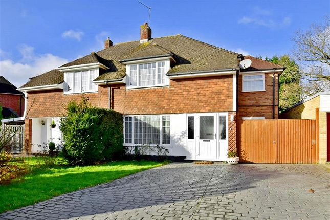 Thumbnail Semi-detached house for sale in Fernholt, Tonbridge, Kent