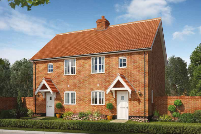 Thumbnail Semi-detached house for sale in Church Hill, Saxmundham, Suffolk