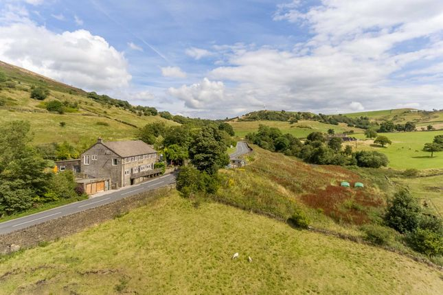 Thumbnail Detached house for sale in Sheffield Road, Hepworth, Holmfirth