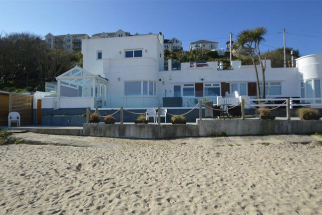 Thumbnail Semi-detached house for sale in Porthrepta Road, Carbis Bay, St. Ives, Cornwall