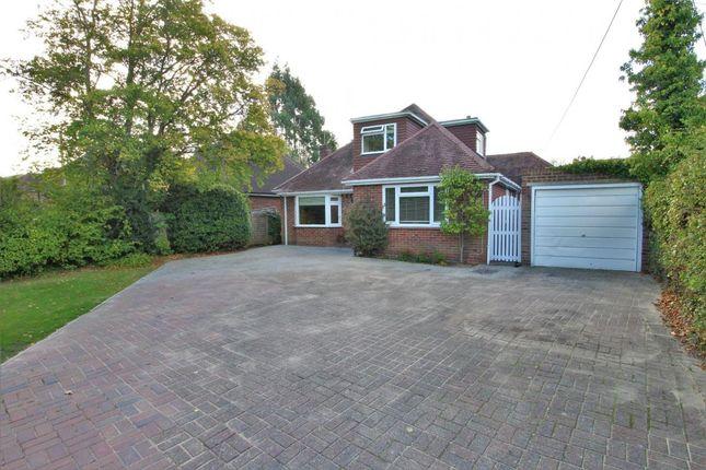 Thumbnail Detached bungalow for sale in Church Crookham, Fleet