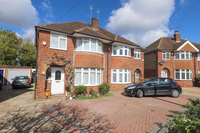 Thumbnail Semi-detached house for sale in The Furrows, Harefield, Uxbridge