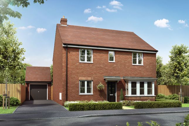 "Thumbnail Detached house for sale in ""The Pembroke"" at Badgers Chase, Retford"