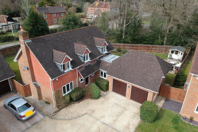 Thumbnail Detached house for sale in The Hawthorns, Baughurst, Tadley