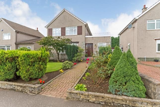 Thumbnail Detached house for sale in Campsie Drive, Bearsden, Glasgow, East Dunbartonshire
