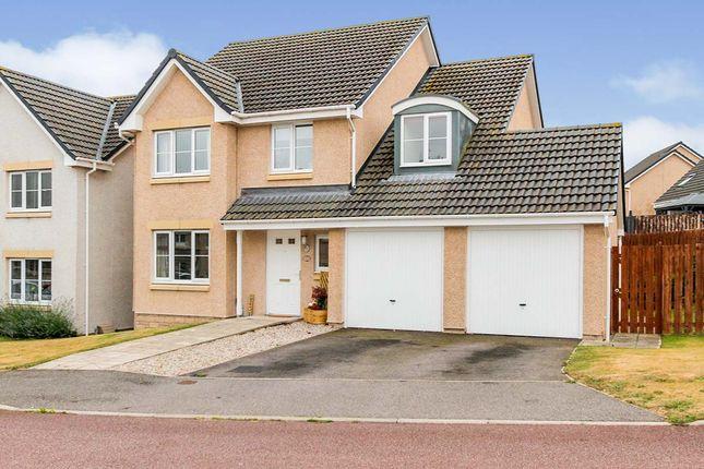 Thumbnail Detached house for sale in Fogwatt Crescent, Elgin, Moray