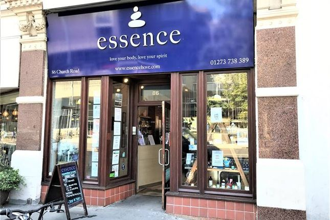 Thumbnail Retail premises to let in Church Road, Hove