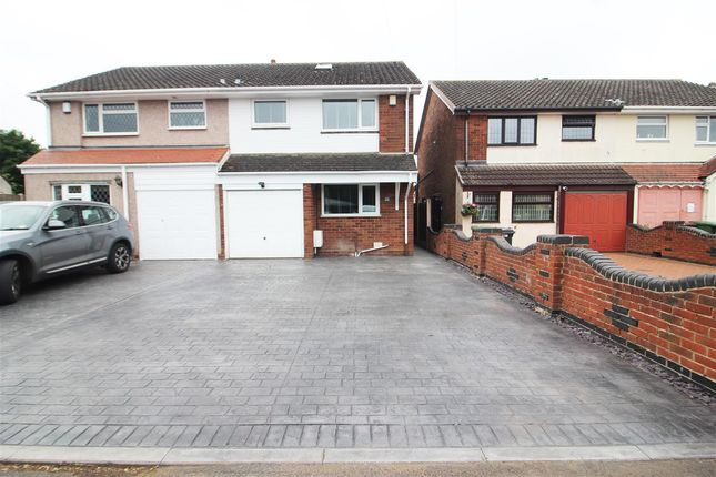 3 bed semi-detached house for sale in Church Street, Clayhanger, Walsall WS8