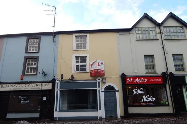 Thumbnail Flat to rent in Clarence Street, Pontypool