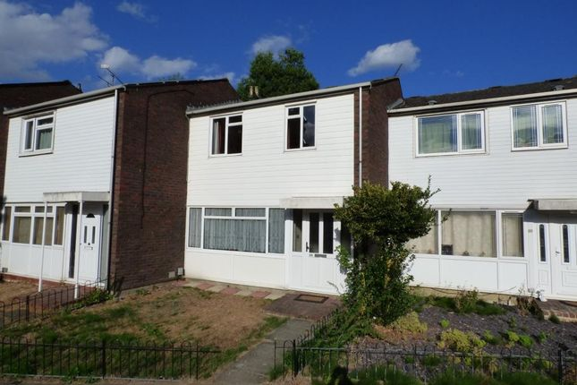 Thumbnail Terraced house for sale in Carmarthen Close, Farnborough