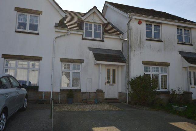 Thumbnail Terraced house to rent in Carthew Close, Liskeard, Cornwall