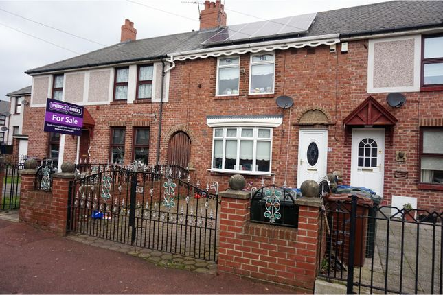 Thumbnail Terraced house for sale in Wigmore Avenue, Newcastle Upon Tyne