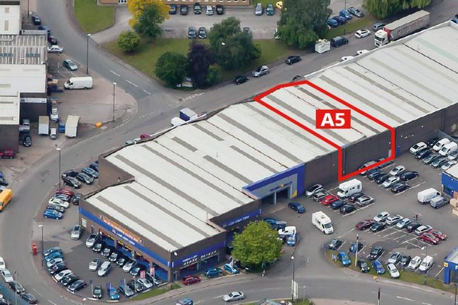 Thumbnail Industrial to let in A5, West Meadows Industrial Estate, Derby