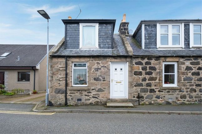 Thumbnail End terrace house for sale in Cowgate, Oldmeldrum, Inverurie, Aberdeenshire