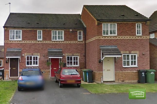 Thumbnail Terraced house for sale in Astbury Close, Bloxwich, Walsall
