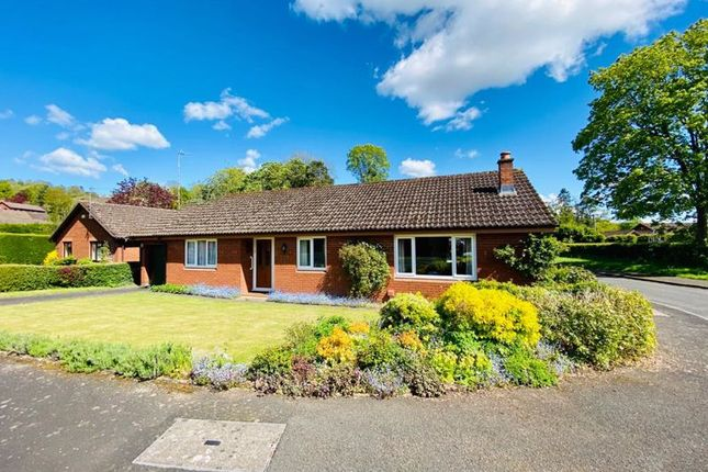 Thumbnail Detached bungalow for sale in Priorsfield, Ewyas Harold, Hereford