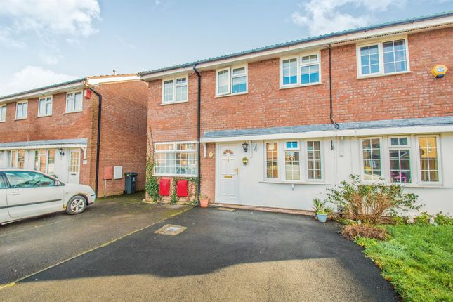 Thumbnail Semi-detached house for sale in Glenrise Close, St. Mellons, Cardiff