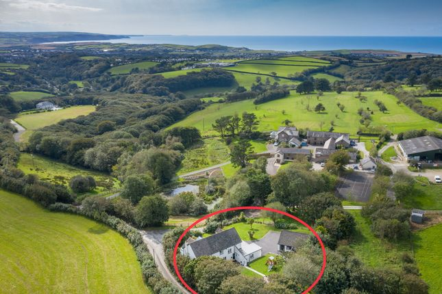 Thumbnail Detached house for sale in Ivyleaf Hill, Bude