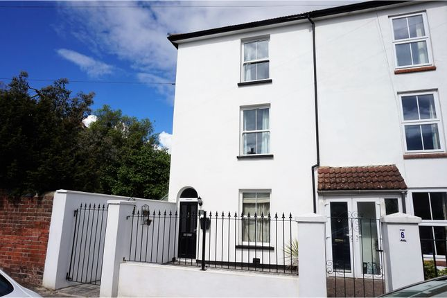 Thumbnail Town house for sale in Paget Road, Gosport