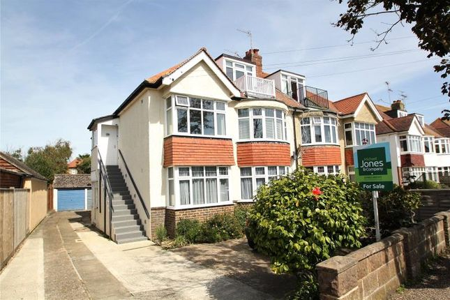 Thumbnail Maisonette for sale in Aglaia Road, West Worthing, West Sussex