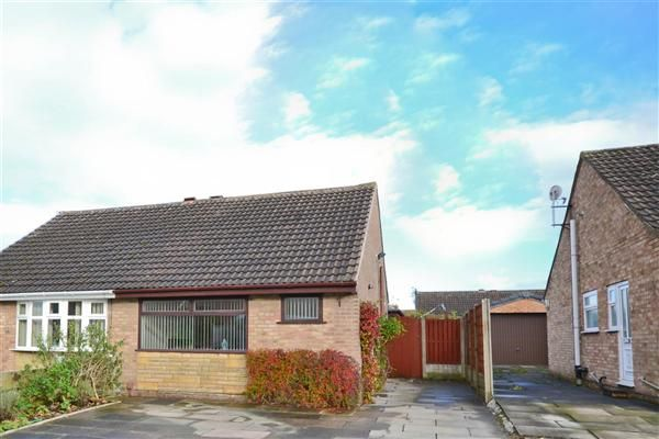 Thumbnail Semi-detached bungalow for sale in Fotherby Place, Wigan
