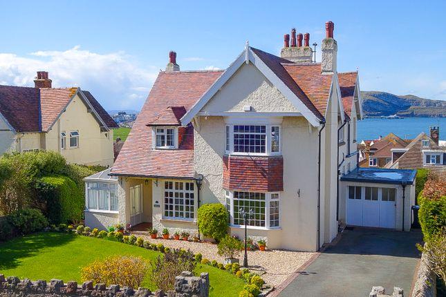 Thumbnail Detached house for sale in Bryn Y Bia Road, Craigside, Llandudno