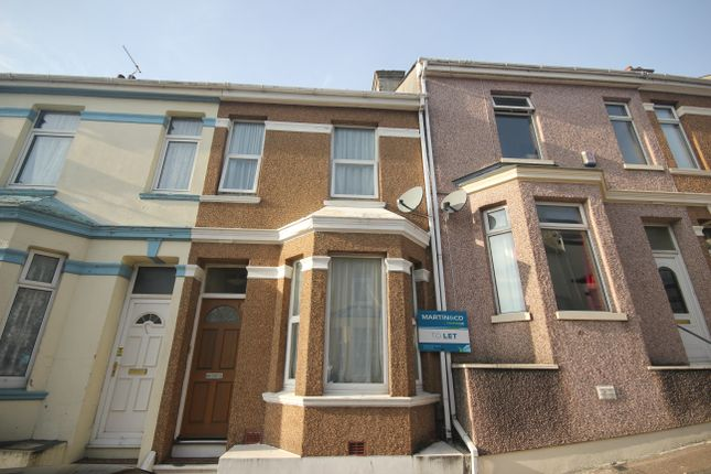 Thumbnail Terraced house to rent in Cotehele Avenue, Keyham, Plymouth
