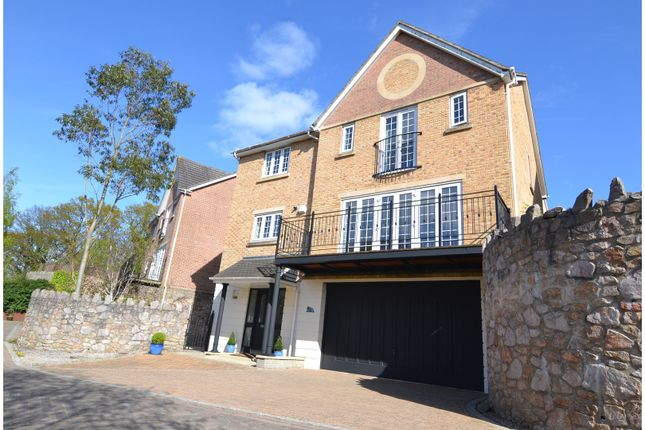 Thumbnail Detached house for sale in Victory Close, Newton Abbot