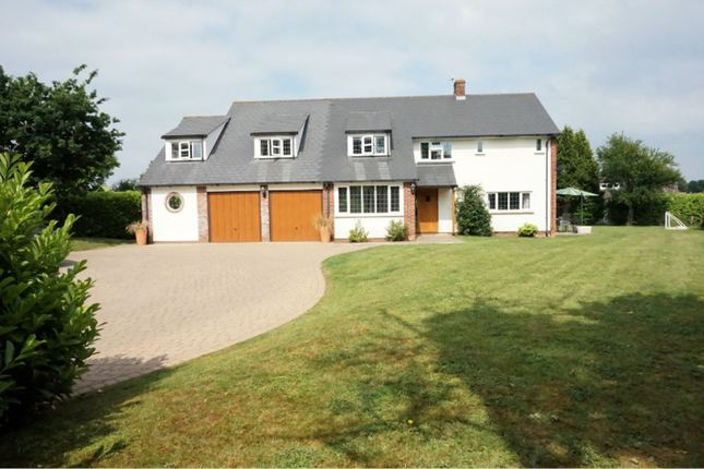 Thumbnail Detached house for sale in Staplehay, Trull, Taunton