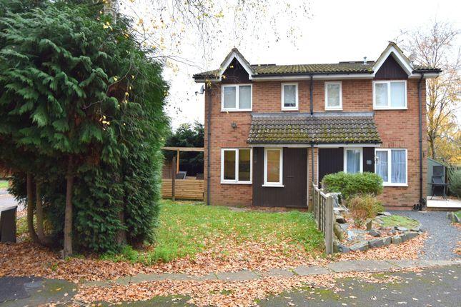 Thumbnail End terrace house for sale in Chiltern Avenue, Farnborough