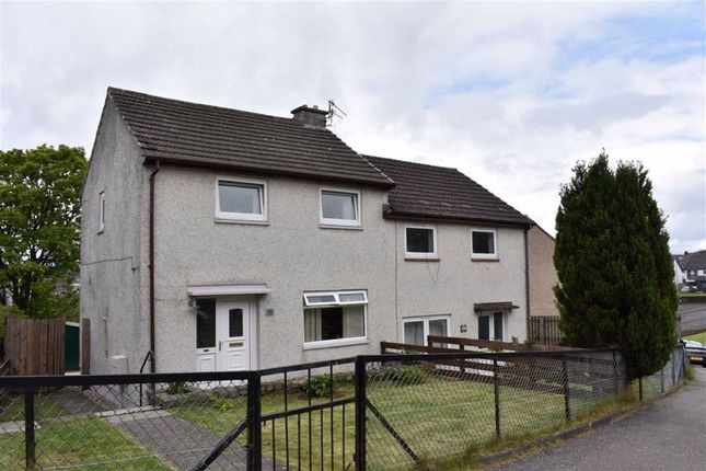 Thumbnail 2 bedroom semi-detached house for sale in 10, Forfar Road, Greenock, Renfrewshire