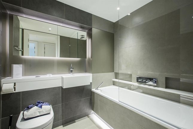 Bathroom of 4 Riverlight Quay, Nine Elms SW11