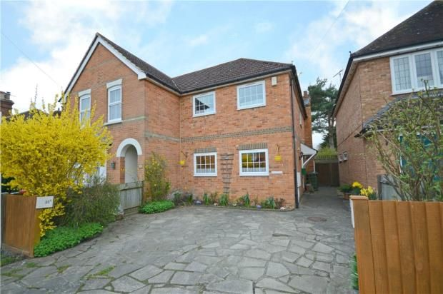 Thumbnail Semi-detached house for sale in The Broadway, Sandhurst, Berkshire