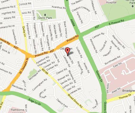 Help Finding Rental Homes: Baden Road, Old Swan, Liverpool L13, 2 Bedroom Terraced