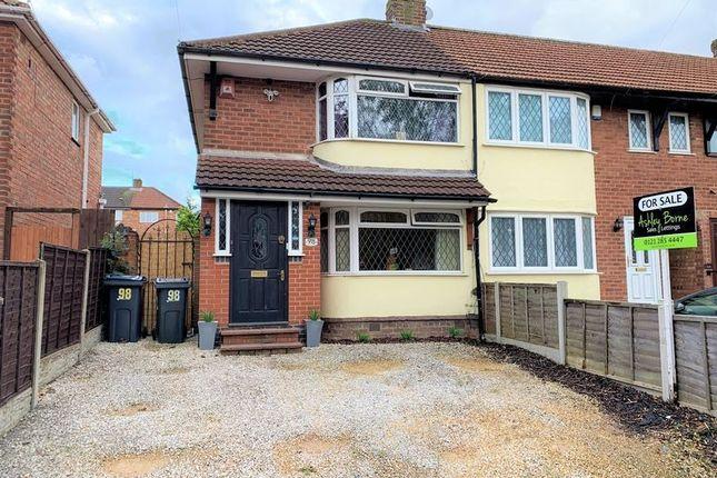 Thumbnail Semi-detached house for sale in Groveley Lane, Longbridge, Northfield, Birmingham