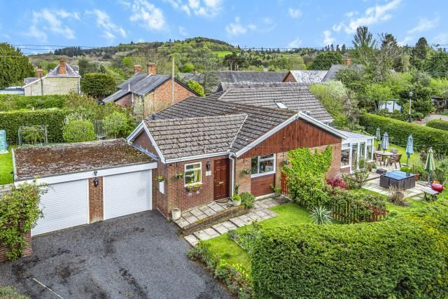Thumbnail Detached bungalow for sale in Bucknell, Shropshire