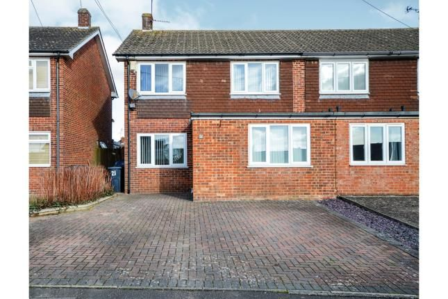 Thumbnail Semi-detached house for sale in Wickenden Crescent, Willesborough, Ashford, Kent